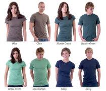 Designbyhumans T-shirt template men and women