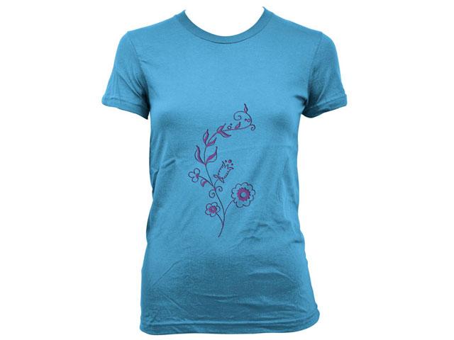 Women T-shirt template psd T-shirt Template