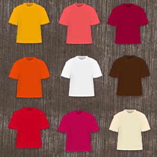 Black Photoshop T-Shirt Template