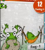cartoon-frog