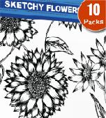 Floral-sketchy